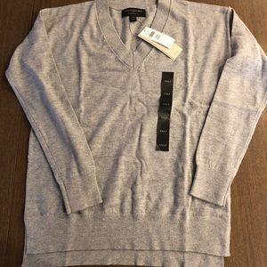 Banana Republic gray sweater NEW size XXS petite